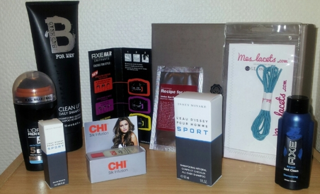 Glossy Box homme