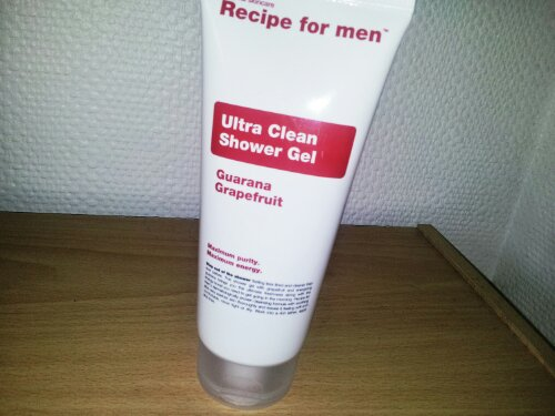 gel douche Recipe for men